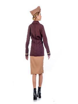 disfraz de avidora vintage mujer