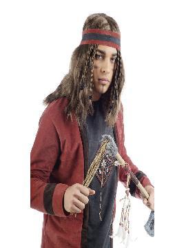 disfraz de indio fiel deluxe hombre