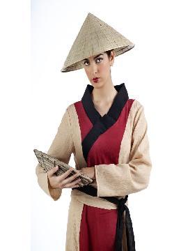 disfraz de china guan yin mujer