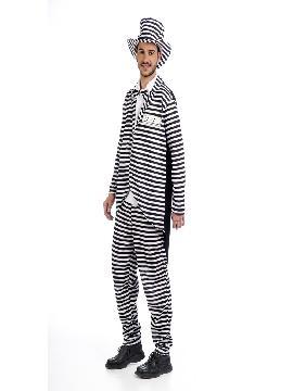 disfraz de novio preso deluxe hombre
