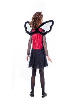 disfraz de vampira halloween niña