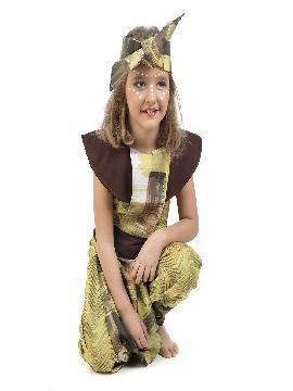 disfraz de africana deluxe niña