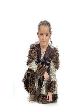 disfraz de guerrera vikinga para niña