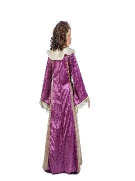 disfraz de dama medieval leonor niña