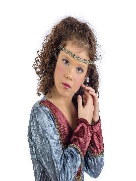 disfraz de medieval jimena niña