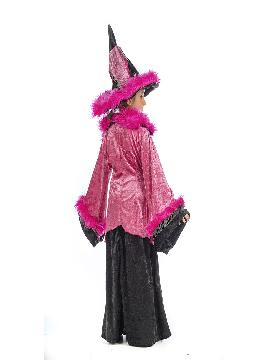 disfraz de bruja caroline para niña