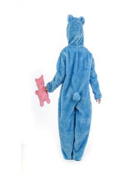 disfraz de oso azul amoroso niño