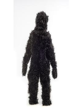 disfraz de gorila deluxe niño