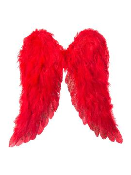 alas de arcangel rojo 45 x39 cm