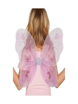 alas de mariposa purpuras 48x35 cms