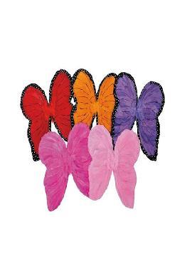 alas de mariposa varios colores