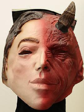 mascara de angel y demonio para adulto