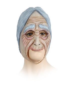 mascara de vieja cascarrabias de latex