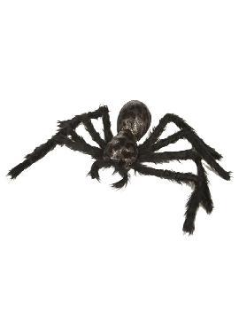 araña colgante peluda 58 x 20 x 5 cm