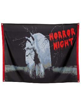 bandera noche horror 90 x 150 cm