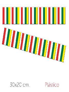 bandera region madrid plastico 50 m 30x20 cm