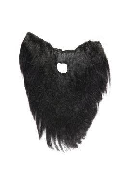 barba corta negra