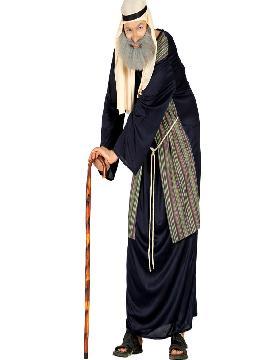 bastón de pastor o anciano en madera 92 cm