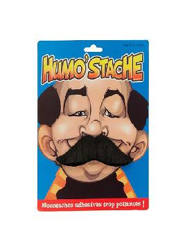 bigote de duque negro