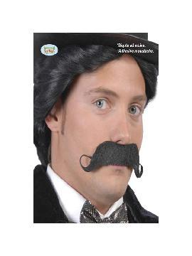 bigote mostacho con adhesivo