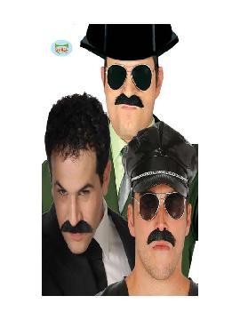 bigote policia negro