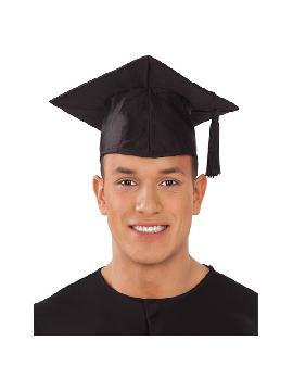birrete de graduado con borla de 59 cm