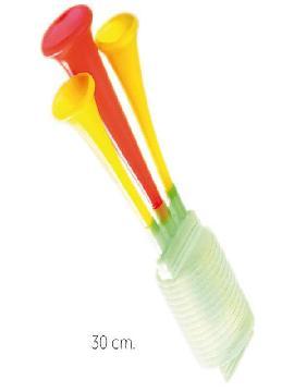 bocina de payaso 30 cm