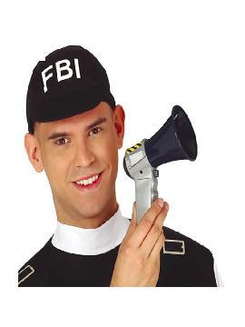 bocina de policia con sonido