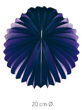 bolsa 25 unidades de faroles violetas 20 cm