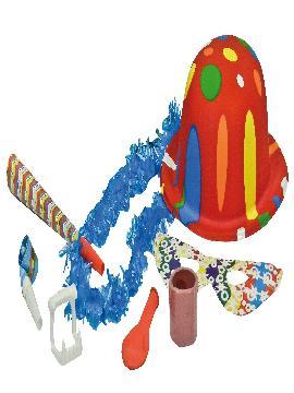 bolsa de cotillon lujo con sombrero 35x45 cm