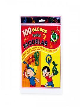 bolsa de 100 globos de modelar surtidos