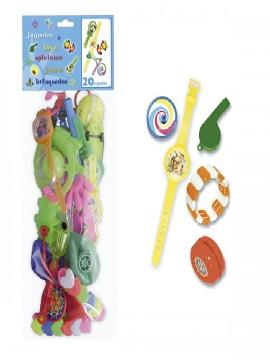 bolsa de 20 juguetes surtidos