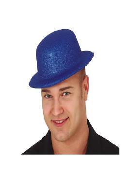 bombin de purpurina azul