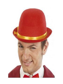 bombin rojo de fieltro