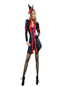 disfraz de bruja seductora para mujer