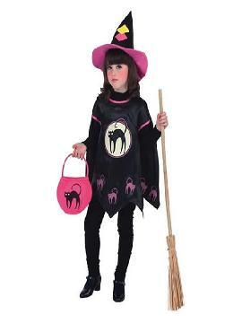 disfraz de bruja halloween para niña