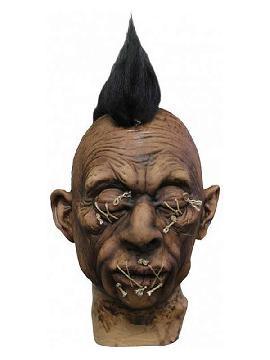 cabeza reducida 3 de latex halloween