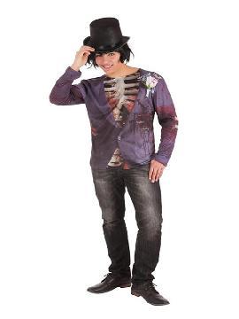 camiseta de novio cadaver para hombre