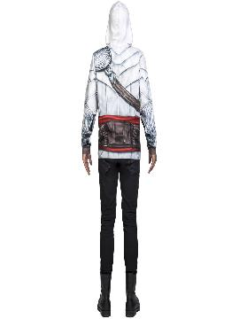 camiseta disfraz de ezzio assassins creed hombre
