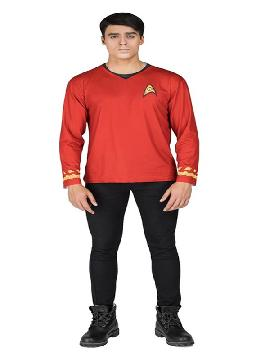 camiseta disfraz de scotty de star trek hombre