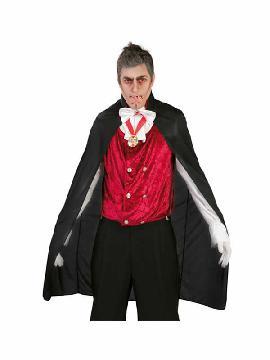 capa de vampiro de 110 cm para halloween