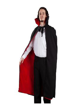 capa de vampiro reversible adulto