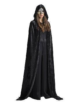 capa negra para adultos