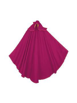 capote de torero rosa adulto 180x110 cm