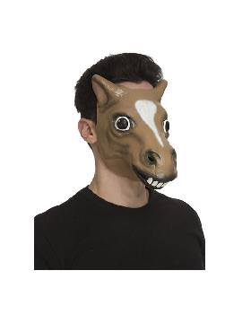 careta de caballo risueño