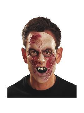 careta de zombie infectado