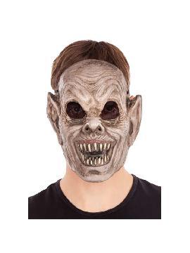 careta de zombie terrorifico pvc