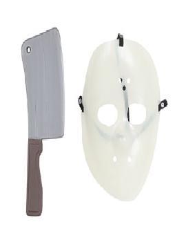 careta y cuchillo de jaeson viernes 13
