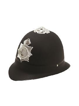casco bobby ingles con insignia