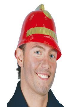casco bombero plastico adulto